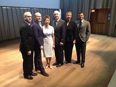 Jane Chu, Chairman of the National Endowment for the Arts visits Miami