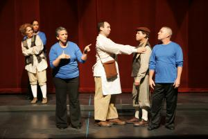 Shadow Interpreted Theater Program For Children And