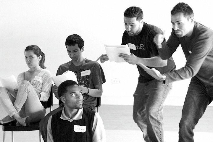Photo: Shadow Interpreted Theater Workshop April 2010 www.ImagesbyJDA.com